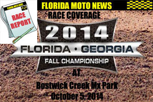 Florida MOTO News PHOTO coverage of the 2014 FL/GA Fall Championship Rd #1