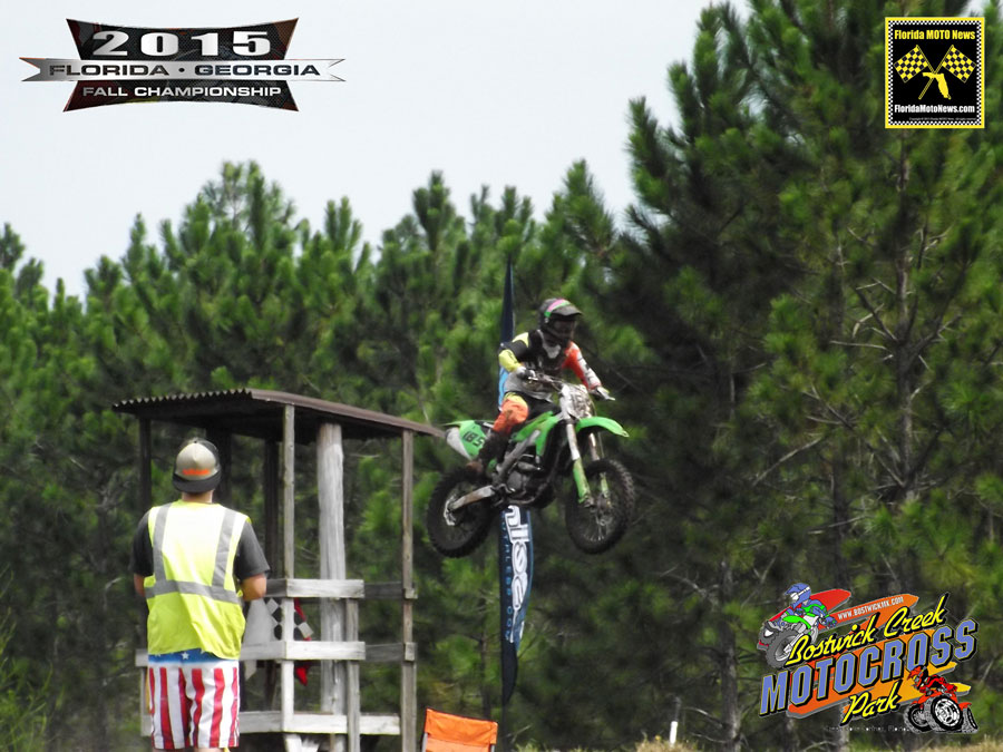 Florida MOTO News - Connor Fortune (KAW #185) WINS at the 2015 FLGA Fall Championship at Bostwick MX.