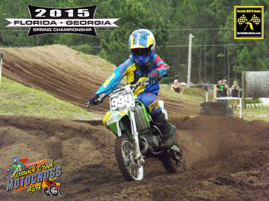 Florida MOTO New Race Report featured rider - Mathew White (KAW #999)
