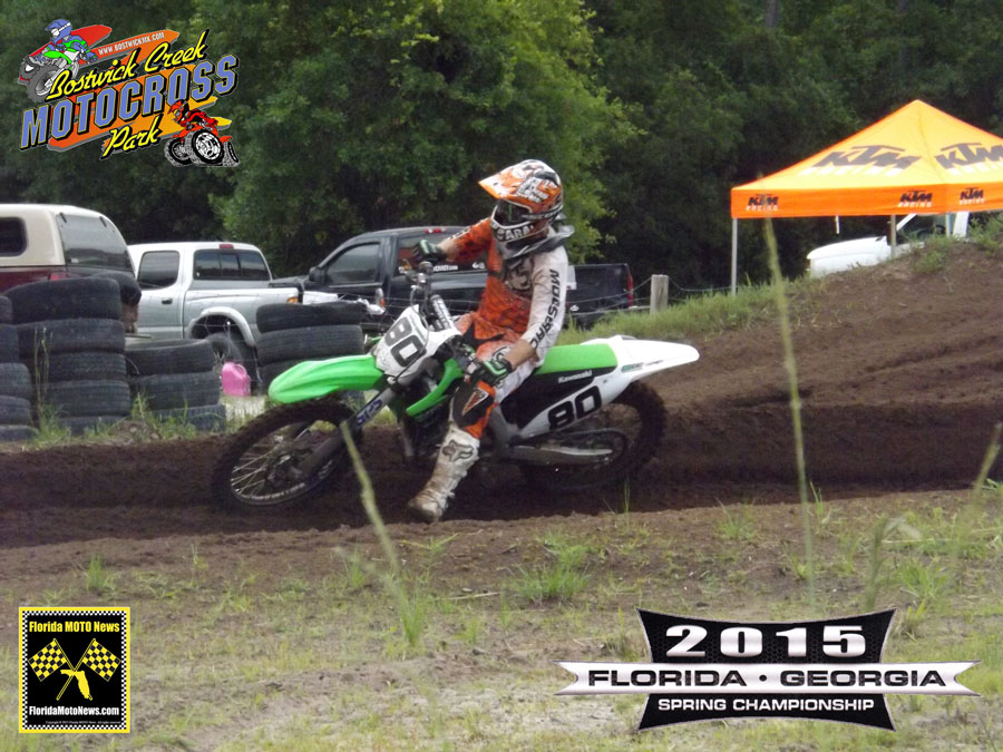 Florida MOTO New Race Report featured rider - Mark Osteen (KAW #80)