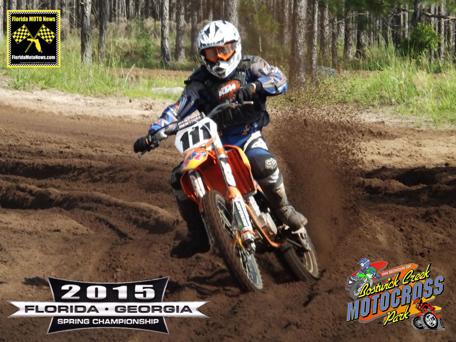 Florida MOTO New Race Report featured rider - David Smith (KTM #111)