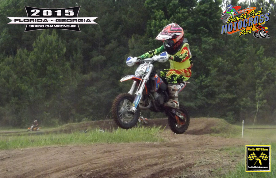 Florida MOTO New Race Report featured rider - Braxton Burnsed (KTM #44)