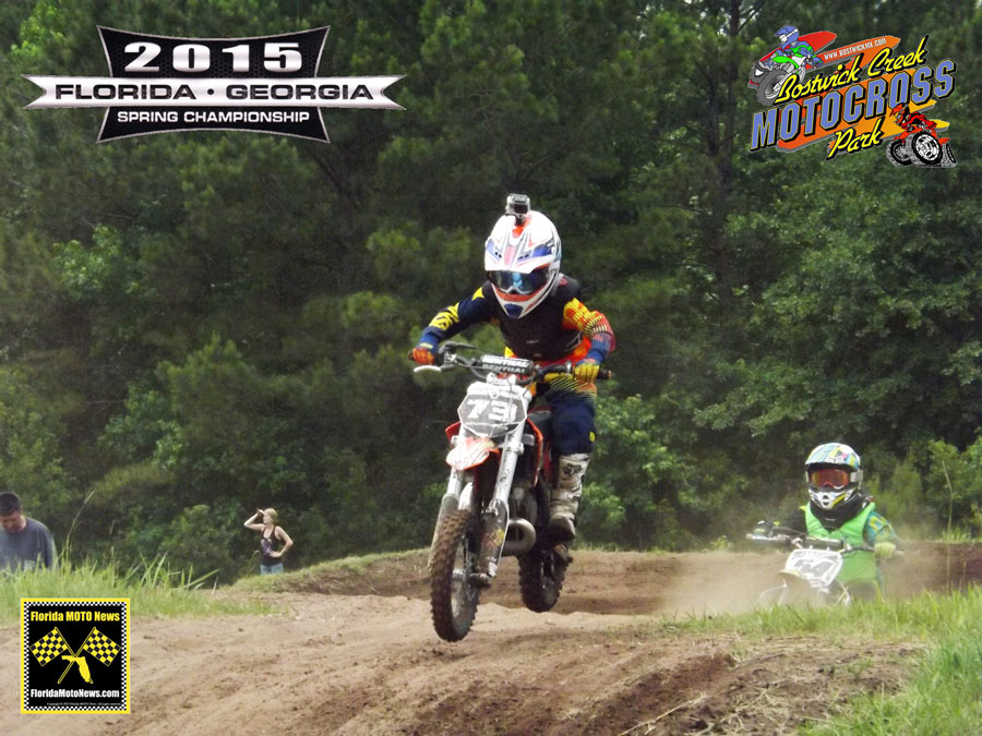 Florida MOTO New Race Report featured rider - Calen Myers (KTM #73)