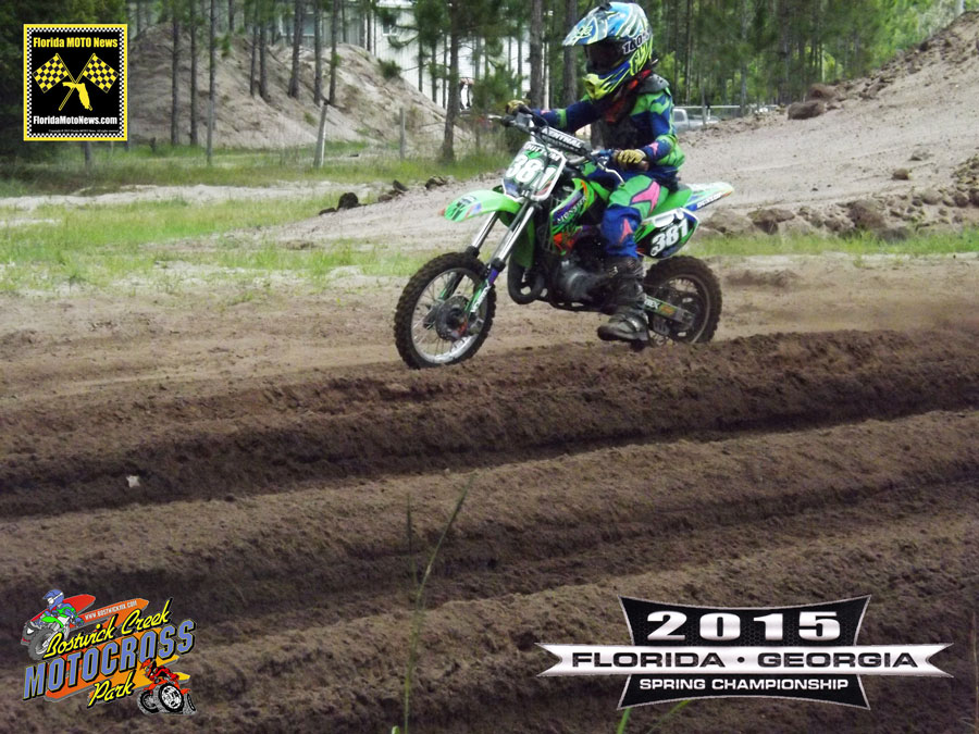Florida MOTO New Race Report featured rider - Rydar Chittum (KAW #381)