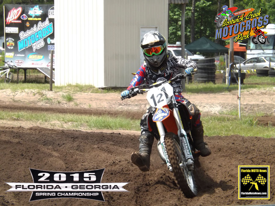 Florida MOTO New Race Report featured rider - Cj Rosa (KTM #121)