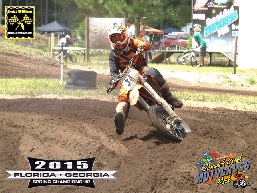 Florida MOTO New Race Report featured rider - Hunter Blackledge (KTM #34)