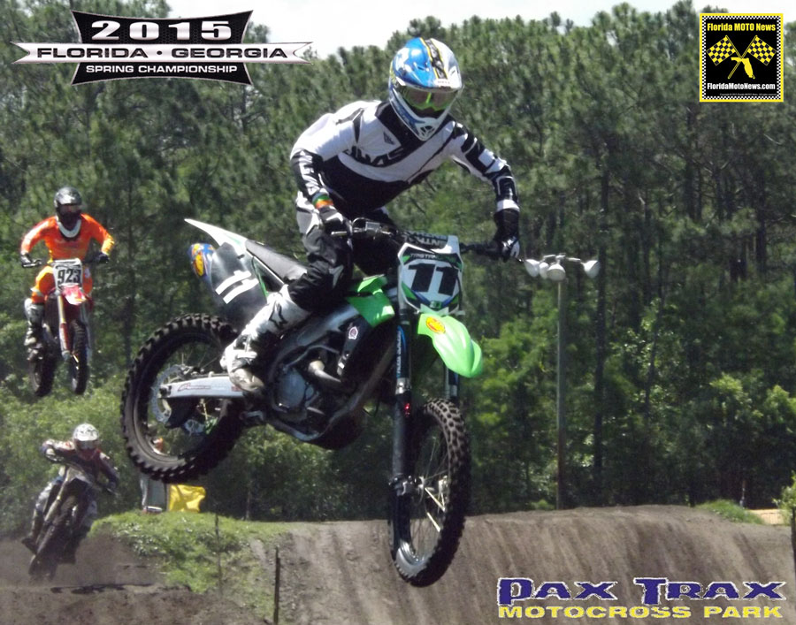 Florida MOTO News Race Report featured rider Tristan Lane (KAW #11)