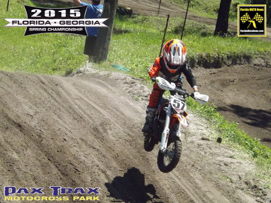 Florida MOTO News Race Report featured rider Chase Matott (KTM #57)