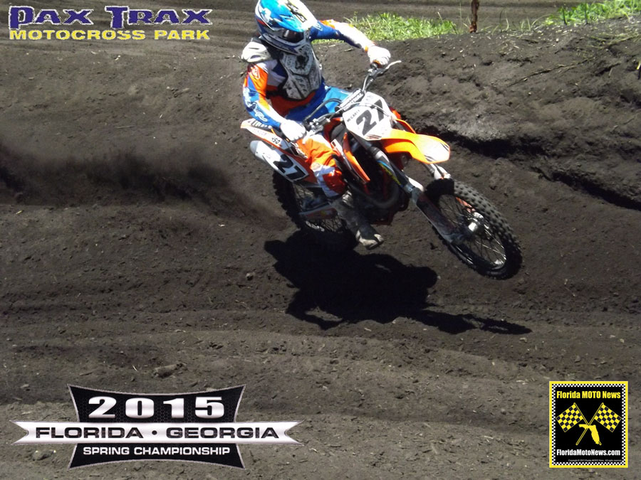 Florida MOTO News Race Report featured rider Barry Mccarty (KTM #27)
