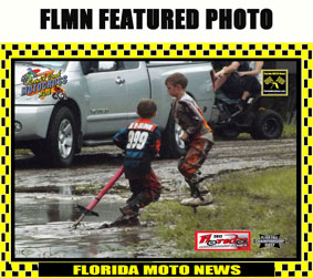 Florida MOTO News Featured Photo - Kids make the most of a muddy race!