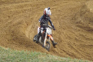 Florida MOTO News - 2013 FL/GA EverRev Fall Classic at Dade City Mx - Trenton Mcclain (KTM #715)