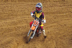 Florida MOTO News - 2013 FL/GA EverRev Fall Classic at Dade City Mx - Chase Matott (KTM #57)