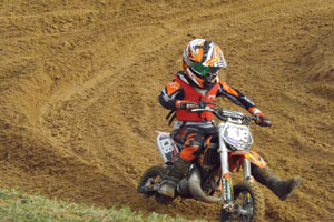 Florida MOTO News - 2013 FL/GA EverRev Fall Classic at Dade City Mx - Zane Spires (KTM #108)