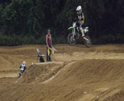 Florida MOTO News - 2013 FL/GA EverRev Fall Classic at Dade City Mx - Dominick Tenari (KAW #31)