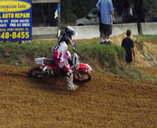 Florida MOTO News - 2013 FL/GA EverRev Fall Classic at Dade City Mx - Justin Maloy (HON #55)