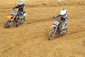Florida MOTO News - 2013 FL/GA EverRev Fall Classic at Dade City Mx - Tyler Mollet and Brayden Ford (KTM #54)