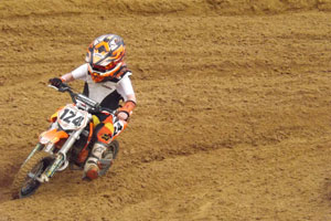 Florida MOTO News - 2013 FL/GA EverRev Fall Classic at Dadae City Mx - Christopher Achatz (KTM #124)
