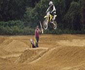 Florida MOTO News - 2013 FL/GA EverRev Fall Classic at Dade City Mx - Aaron Matzelle (SUZ #715)