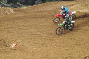 Florida MOTO News - 2013 FL/GA EverRev Fall Classic at Dade City Mx - Timmy Shepherd (KAW #38) - Team Beck's Tech Racing