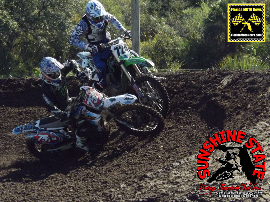 Florida MOTO News Featured Photo - Sunshine State Vintage Motocross Club Race at Tampa MX.