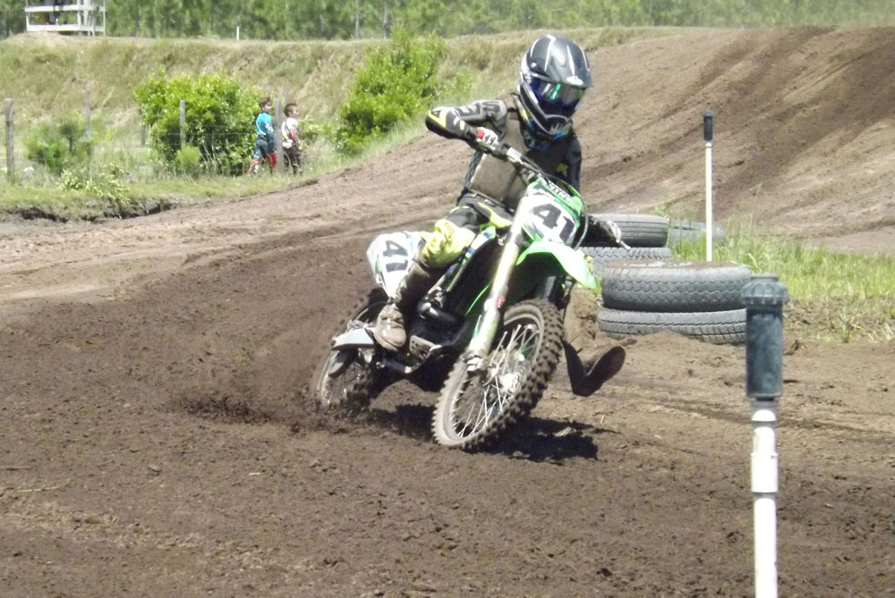 Florida MOTO News - Race Coverage of the 2014 FL/GA Spring Championship race at Bostwick Creek Mx Park - Ryan Rossier (KAW #41)