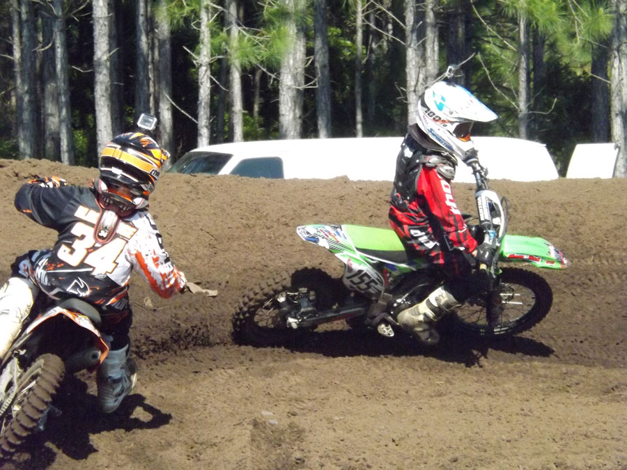 Florida MOTO News - Race Coverage of the 2014 FL/GA Spring Championship race at Bostwick Creek Mx Park - Rowdy Houston (KAW #155)