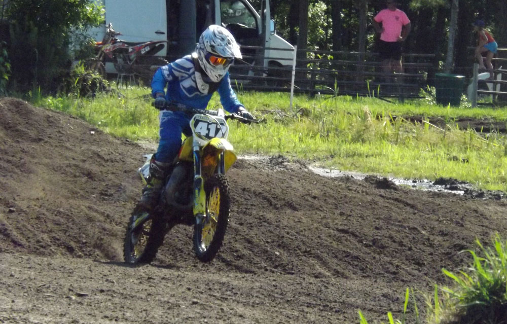 Florida MOTO News - Race Coverage of the 2014 FL/GA Spring Championship race at Bostwick Creek Mx Park - Hayden Hawkins (SUZ #417)