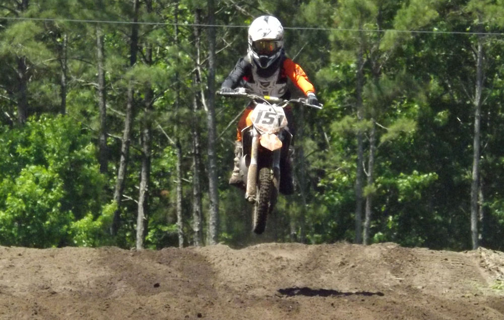 Florida MOTO News - Race Coverage of the 2014 FL/GA Spring Championship race at Bostwick Creek Mx Park - Donny Smallwood (KTM #151)