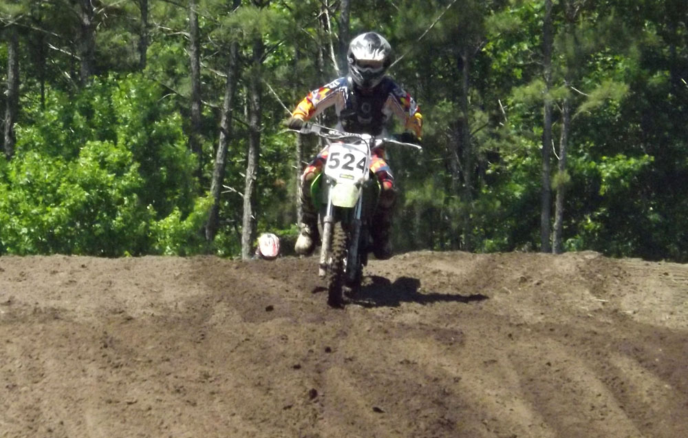 Florida MOTO News - Race Coverage of the 2014 FL/GA Spring Championship race at Bostwick Creek Mx Park - Stone Newsome (KAW #524)