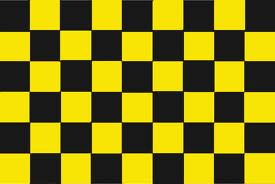 yellow checkers