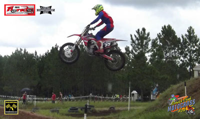Florida MOTO News - Cory Creel (HON #55) WINS at Bostwick Mx!