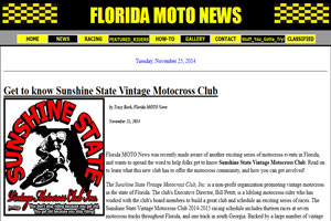 Florida MOTO News - Get to know Sunshine State Vintage Motocross Club