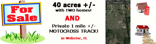 Florida MOTO News -  property investment opportunity - FOR SALE!
