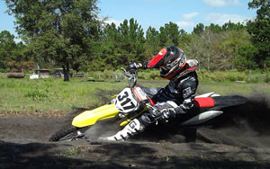 FLMN - Max Darling practicing corners at Sandy Farms Mx