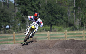 Florida Moto News Featured Rider Max Darling at WW Motocross Park