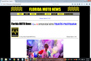 Florida MOTO News Q&A Interview with Travis Pastrana