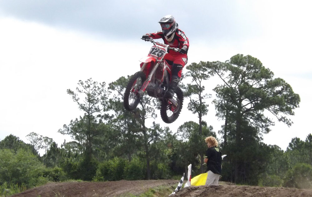 Florida MOTO News - 2014 FL/GA Spring Championship Rd #6 - Mesa MX - William Field (HON #125)
