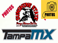 Florida MOTO News photo coverage of the SSVMX race at Tampa MX.